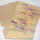 紫霞に桜名古屋帯 帯裏