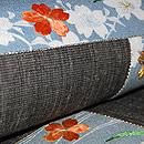 桜小袖の押し絵名古屋帯 質感・風合