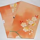 桜の図名古屋帯 帯裏