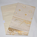 龍村平蔵製「蒔絵梅松錦」袋帯 帯裏