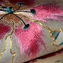 八重チューリップ織り名古屋帯 質感・風合