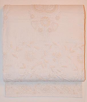 カンタ刺繍の名古屋帯