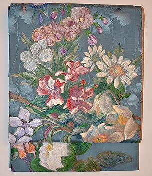 リヨンの花園袋帯