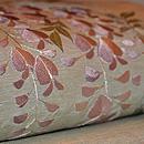 藤の刺繍名古屋帯 質感・風合