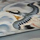 波千鳥絽名古屋帯 質感・風合