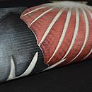 貝の図絽名古屋帯 質感・風合