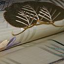 枝垂れ桜に松刺繍名古屋帯 質感・風合