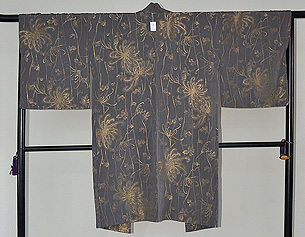 糸菊柄羽織