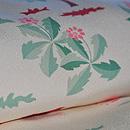 たんぽぽ春草模様羽織 質感・風合