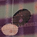 格子に万寿菊の羽織 質感・風合