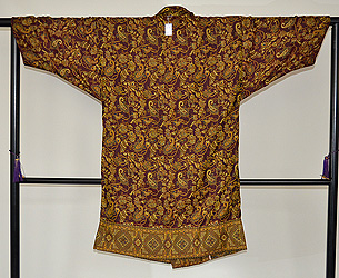 カシミール織コート