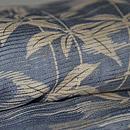 観世水に枝垂れ柳の図絽羽織 質感・風合
