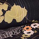秋草の図羽織 質感・風合