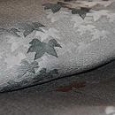 紅葉の図付下小紋 質感・風合