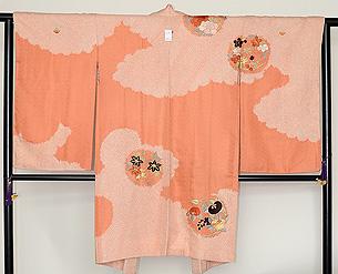 花丸文刺繍長羽織
