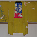 孔雀の羽根の図羽織 羽裏