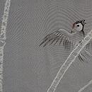 絞りに雀の羽織 質感・風合