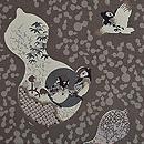 雀のお宿の図羽織 質感・風合