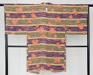 ぼかし地紅葉の羽織