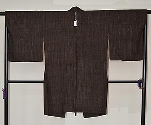 久米島紬コート