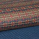 大正更紗と綿唐桟切嵌の羽織 質感・風合