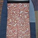 大正更紗と綿唐桟切嵌の羽織 裏地