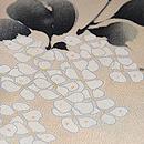 紫陽花小紋柄単衣 質感・風合