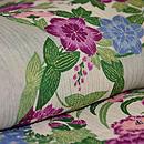花丸紋絹縮 質感・風合
