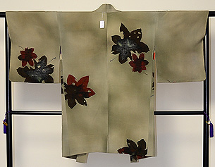 楓の図羽織