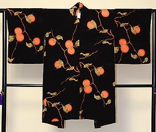 柿の図羽織