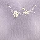 春の文様の羽織 質感・風合