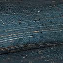 伊兵衛織 青地横雨縞 質感・風合