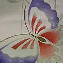 蝶々文様単衣小紋 質感・風合
