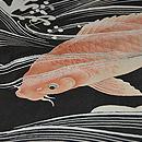 鯉の図夏羽織 質感・風合