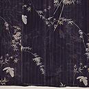 竹雀絽の小紋 上前