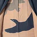 カラスの羽裏の男羽織 羽裏