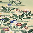 春の花々文様小紋 質感・風合