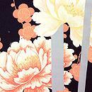 縞竹に梅と牡丹羽織 質感・風合