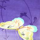 蝶々尽くし羽織 質感・風合