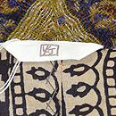 カシミール織コート 灯屋2タグ