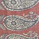 カシミール織コート 質感・風合(裏地)