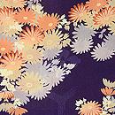 枝菊柄の羽織 質感・風合