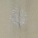 梅の刺繍鶸色羽織 背紋