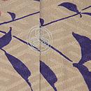 南天に椿の付下げ 背紋
