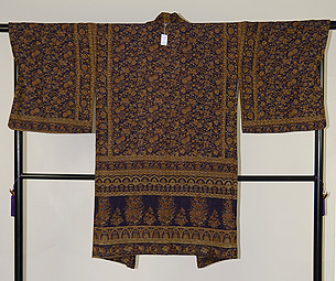 カシミール織羽織