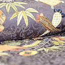 宝尽くし刺繍に疋田雲取りの図訪問着 質感・風合