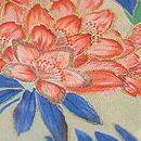 百花絢爛春の花の図訪問着 質感・風合