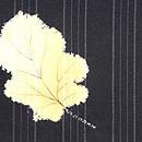 源氏香に柏の葉長羽織 質感・風合