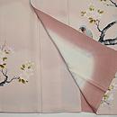 桜枝に小鳥の図訪問着 上前