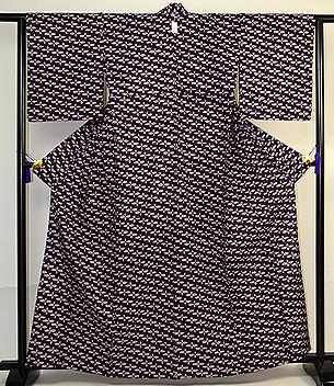 南部紫根染単衣